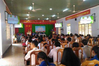 Đại hội Đoàn trường THPT Ea H'Leo nhiệm kỳ 2017 – 2018