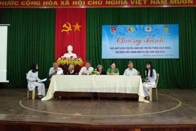 Giao lưu Hội tù Yêu nước Huyện Ea H'Leo nhằm giáo dục lý tưởng cách mạng cho học sinh!