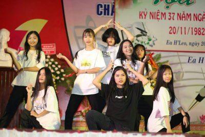 Đoàn trường thành lập và ra mắt CLB Nhảy Hiện Đại THPT Ea H'Leo!