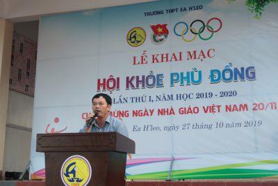 Khoảnh khắc ngày thi đấu đầu tiên Hội khỏe Phù Đổng THPT Ea H'Leo