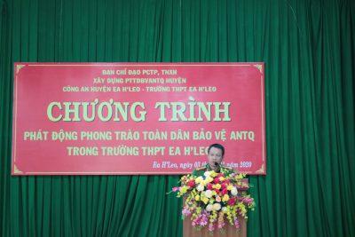 PHÁT ĐỘNG PHONG TRÀO TOÀN DÂN BẢO VỆ AN NINH TỔ QUỐC