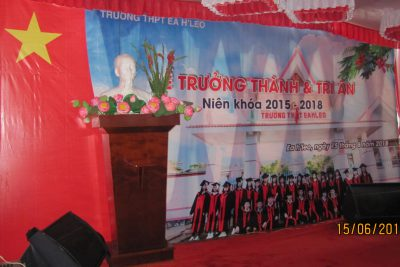 LỄ TRI ÂN VÀ TRƯỞNG THÀNH HỌC SINH LỚP 12, NIÊN KHÓA 2015-2018